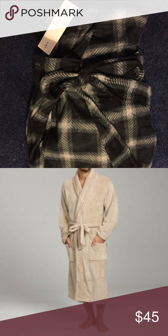 Perry Ellis Portfolio Robe NWT Perry Ellis Portfolio robe. Brand new in packaging with tags. Never been worn and is great for those cold mornings! Perry Ellis Accessories