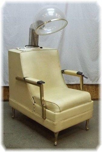 helene curtis her highness retro hair dryer chair vintage salon