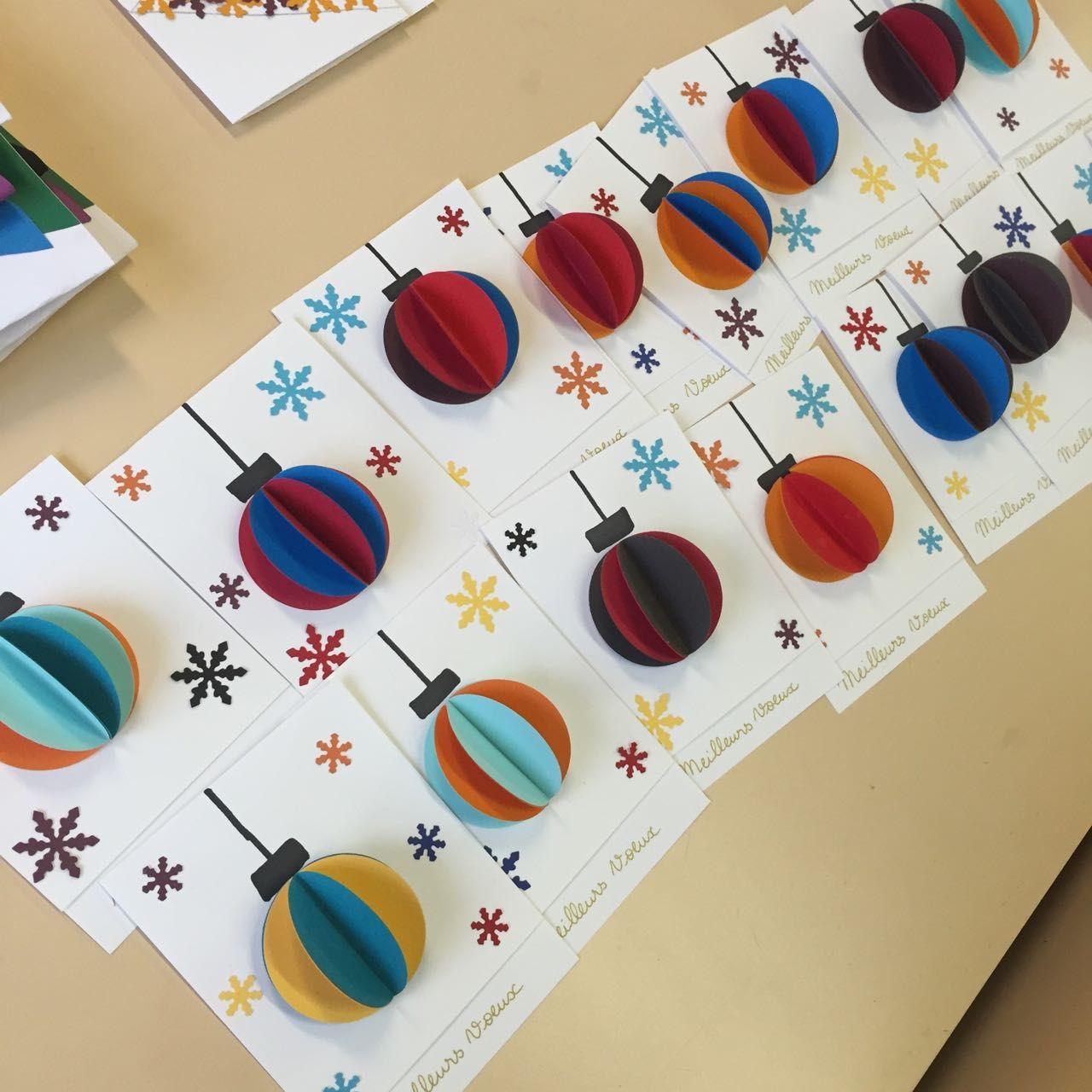 Très Atelier pour la réalisation de jolies cartes de voeux ! - Mitsouko  XH98