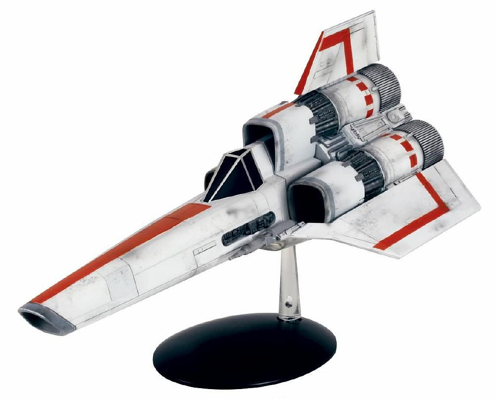 Battlestar Galactica Classic Viper Mark 1 Ship Model with Magazine #4 Eaglemoss