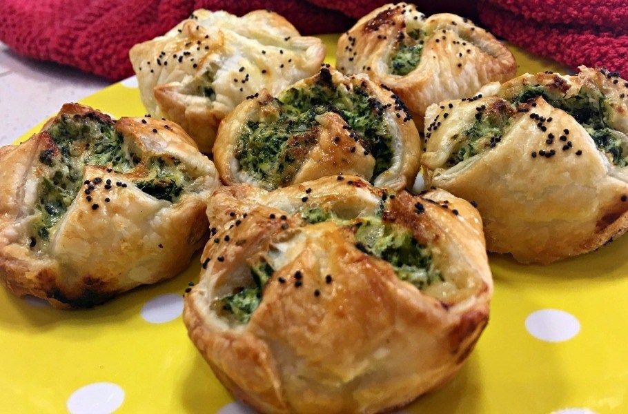 Spinach and Ricotta Parcels Recipe Bruschetta