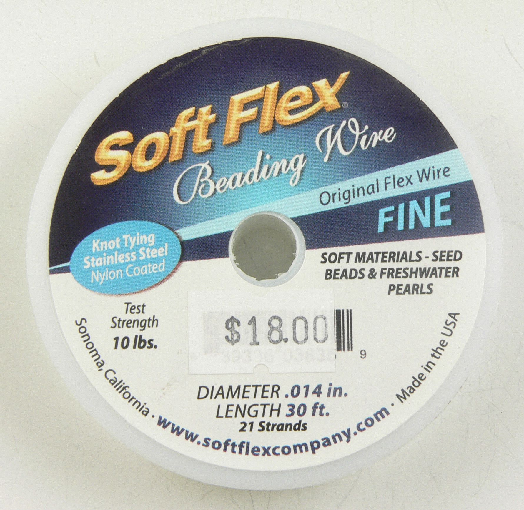 Soft Flex Beading Wire (Fine/Light Weight) | Wire, Products and Weights