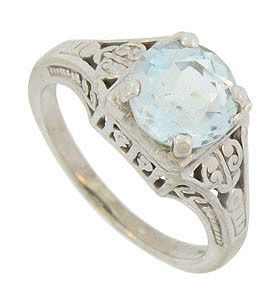 Antique Engagement Rings R2812