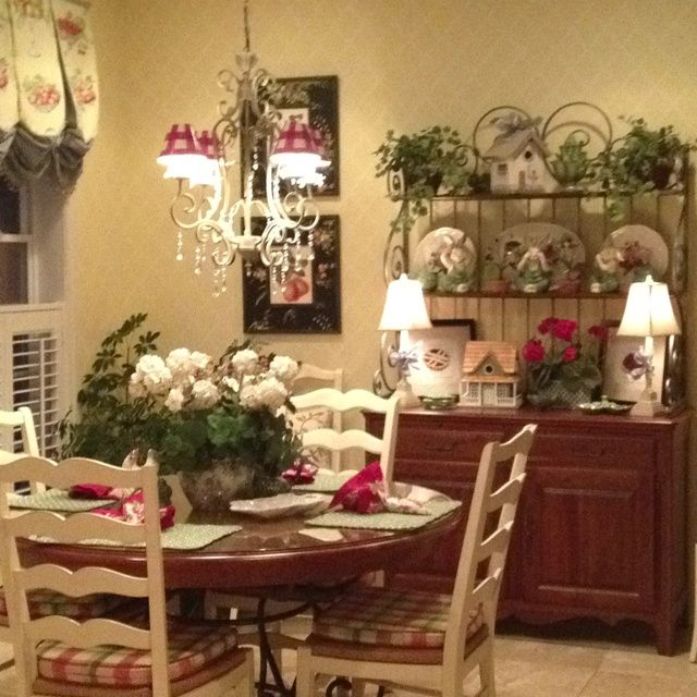 Country Dining Room Decorating Ideas: FRENCH COUNTRY DECOR