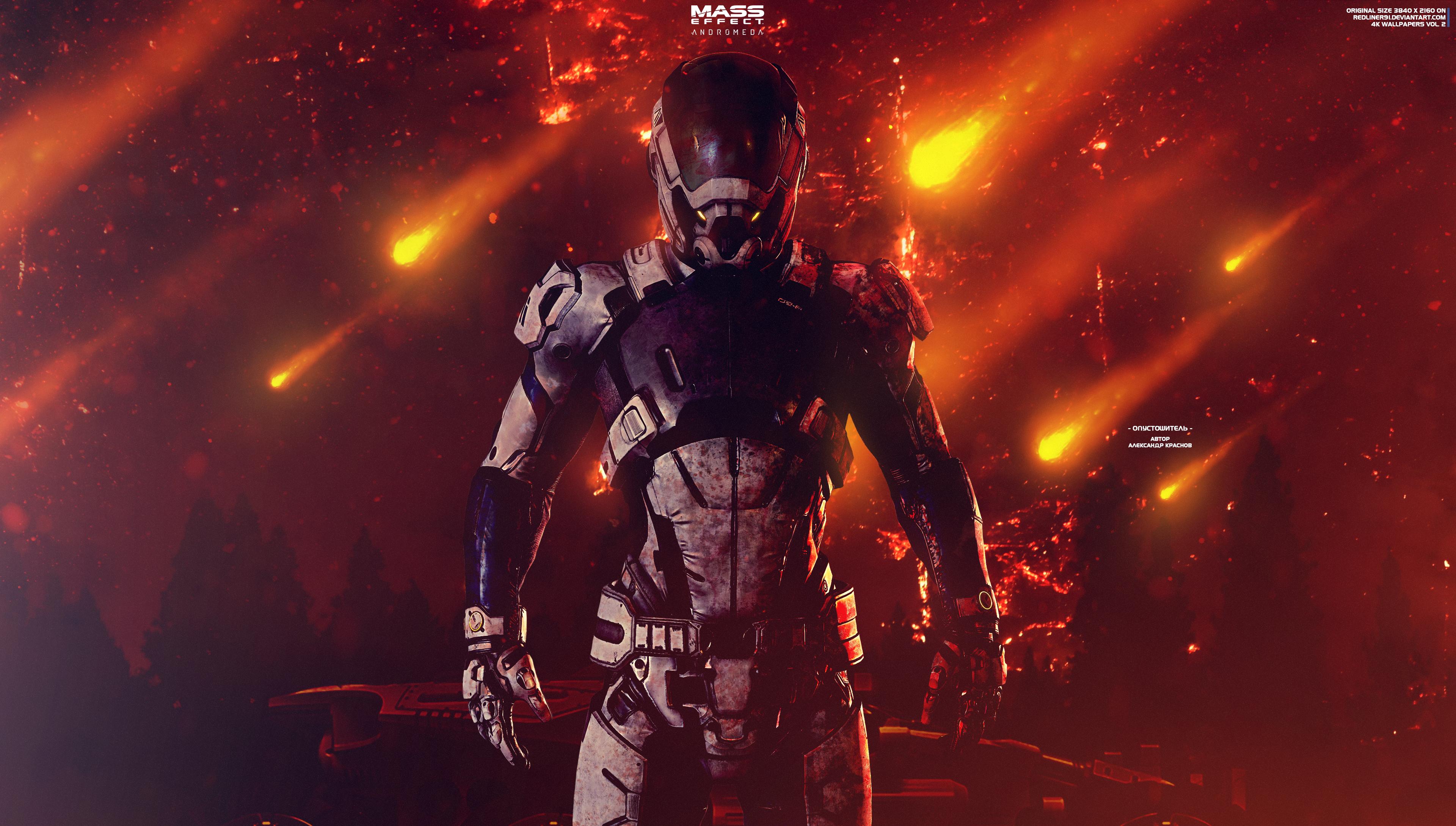 Devastator Mass Effect Andromeda Wallpapers 4k By Redliner91 Mass Effect Mass Mass Effect Universe