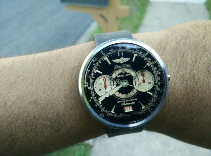 Watch Face] Make your Moto 360 look like a Breitling Bentley