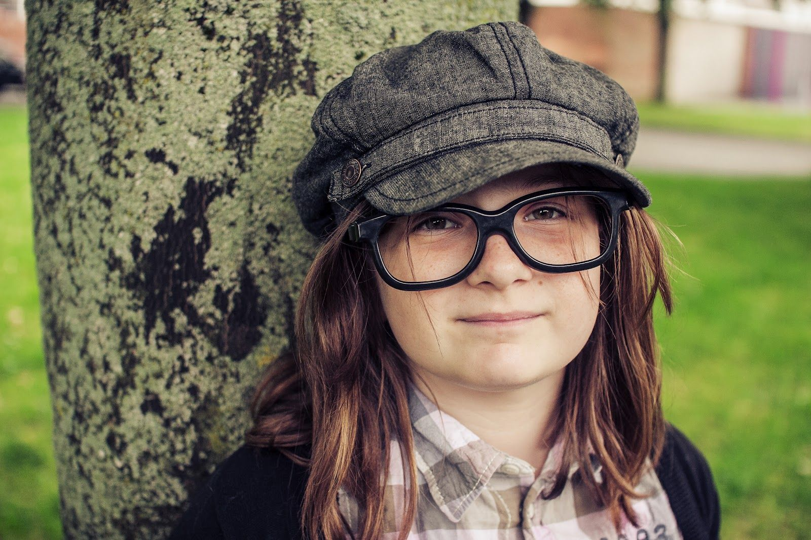 My daughter, she's gone geek chic