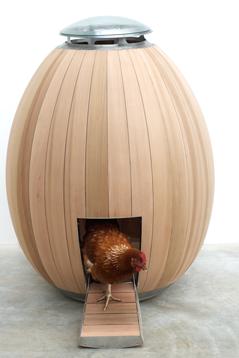 Modern Chicken Coop -- Cool!