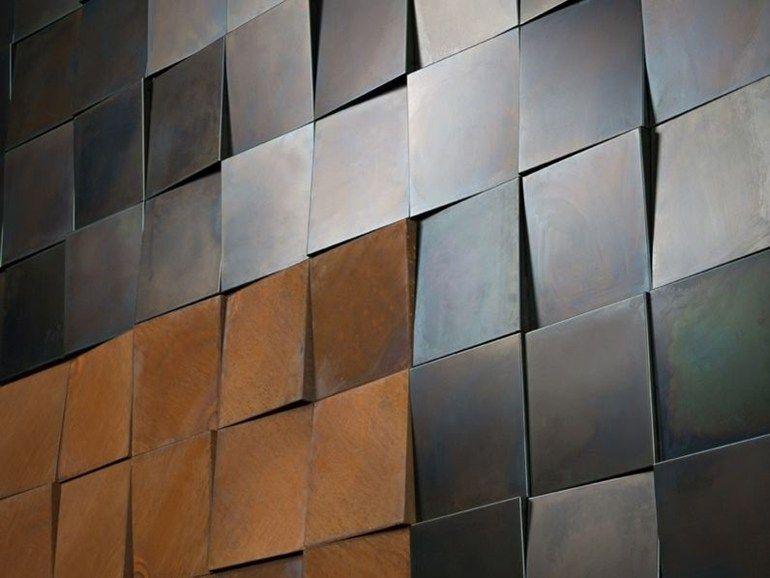 Modular 3D Wall Cladding for interior 3D by DE CASTELLI