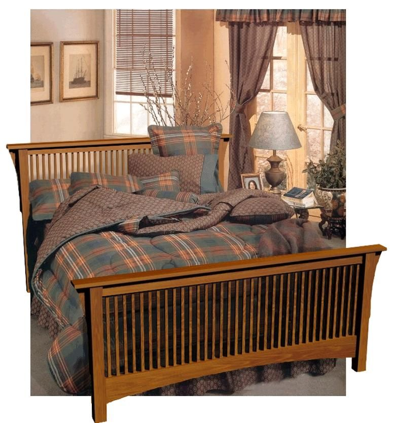 Prairie Spindle Bed Plans Furniture Plans Bed Furniture Spindle Bed