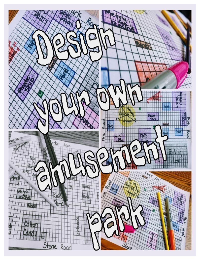 4th grade Geometry/Measurement and Data Review Project | Maths ...