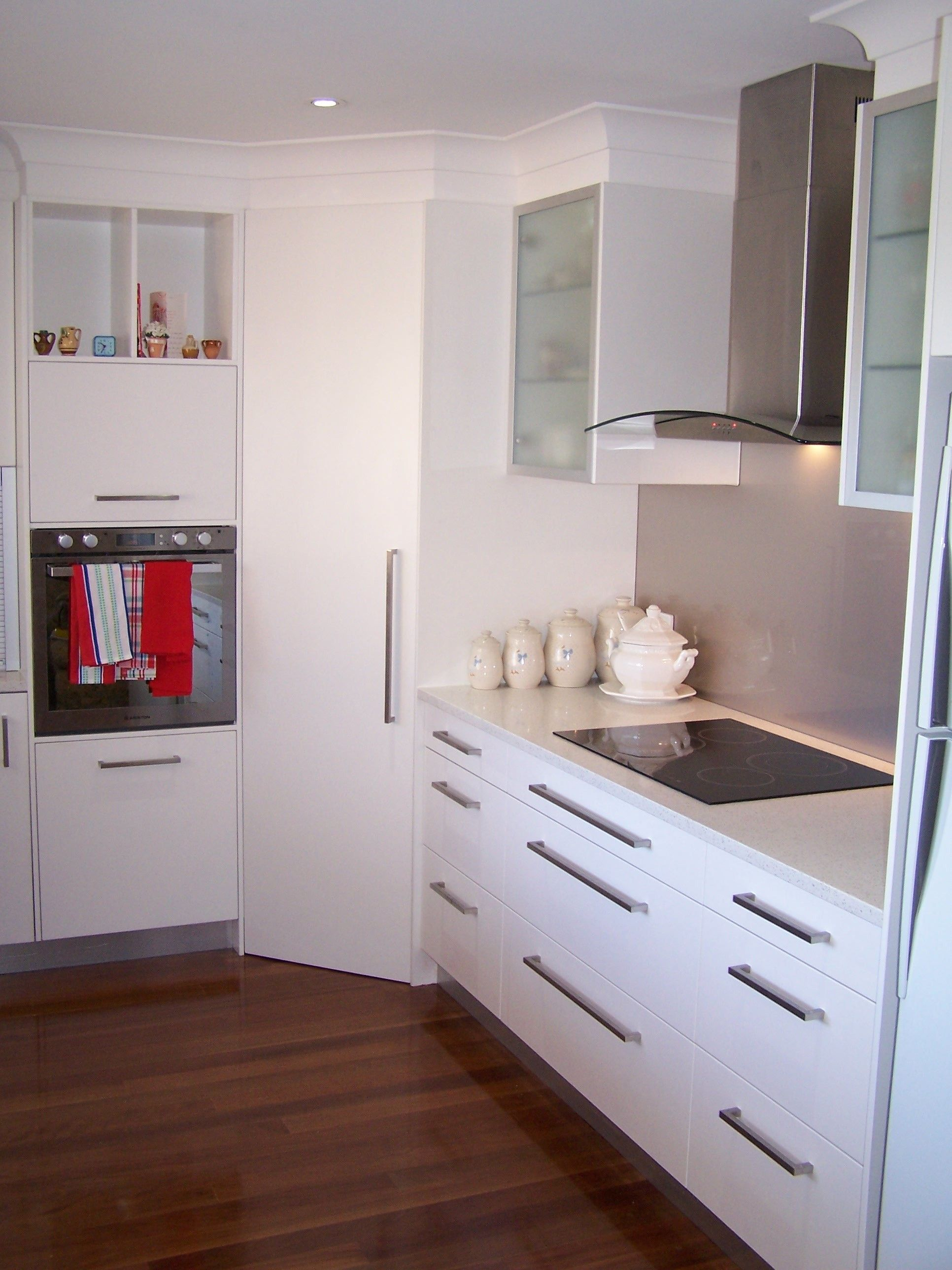 Pantry Corner Cabinet with Contemporary Ceiling To Floor