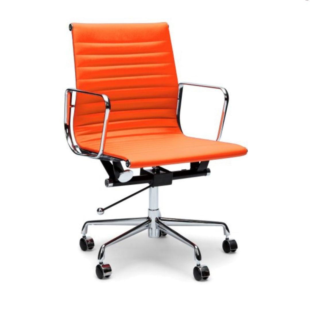 Exceptionnel Orange Leather Office Chair   Executive Home Office Furniture Check More At  Http://