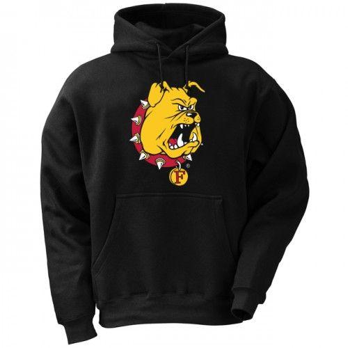 Ferris State Bulldog Logo Hoodie At Campus Den