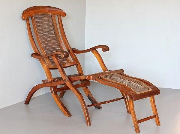 Antique Folding Steamer Deck Chair - Antique Folding Steamer Deck Chair My Stuff Pinterest