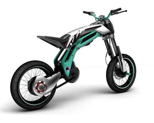 ktm trik's bike, alexandre labruyere, future bike, electric bike