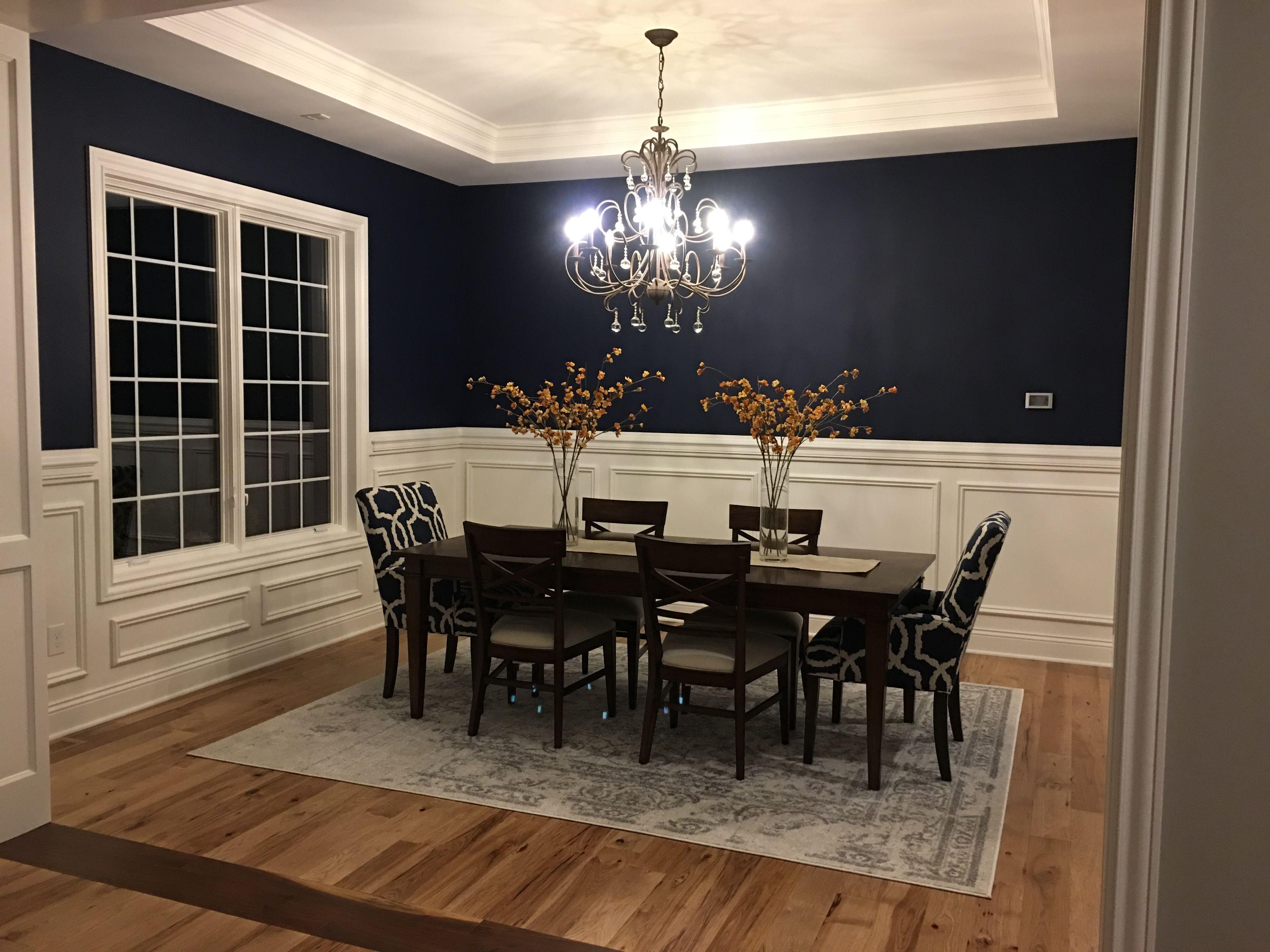 Sw 6244 Naval Blue Dining Room Dining Room Blue Blue Dining