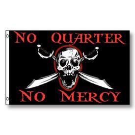 No Quarter No Mercy Pirate Flag 3 X 5 Pirate Flag Pirate Art Pirates