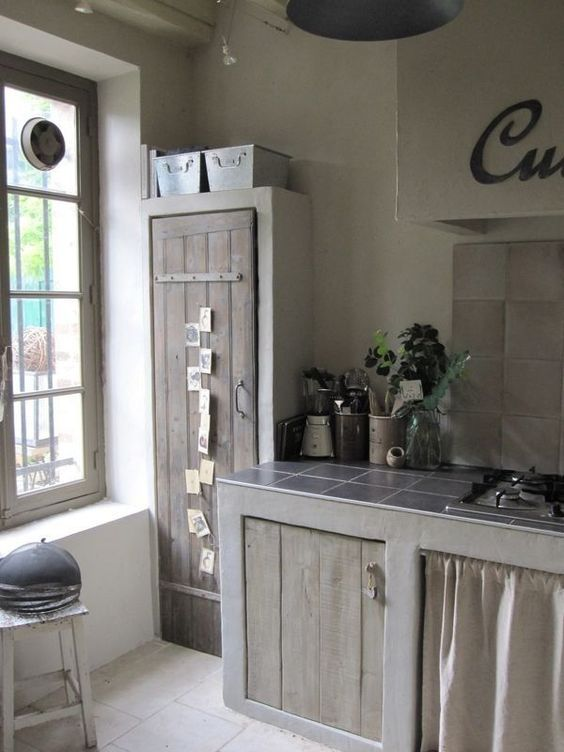 cocinas a base de cemento home pinterest kitchens house and rustic kitchen on outdoor kitchen ytong id=43725