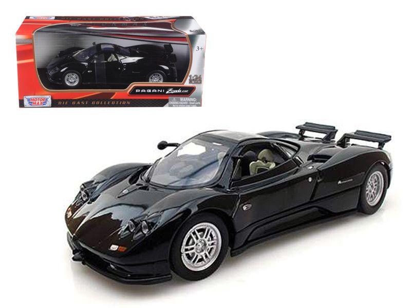 Pagani Zonda C12 Black 1/24 cast Car Model by Motormax - Brand ...