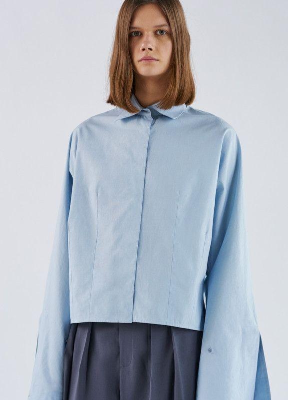 celine blue shirt