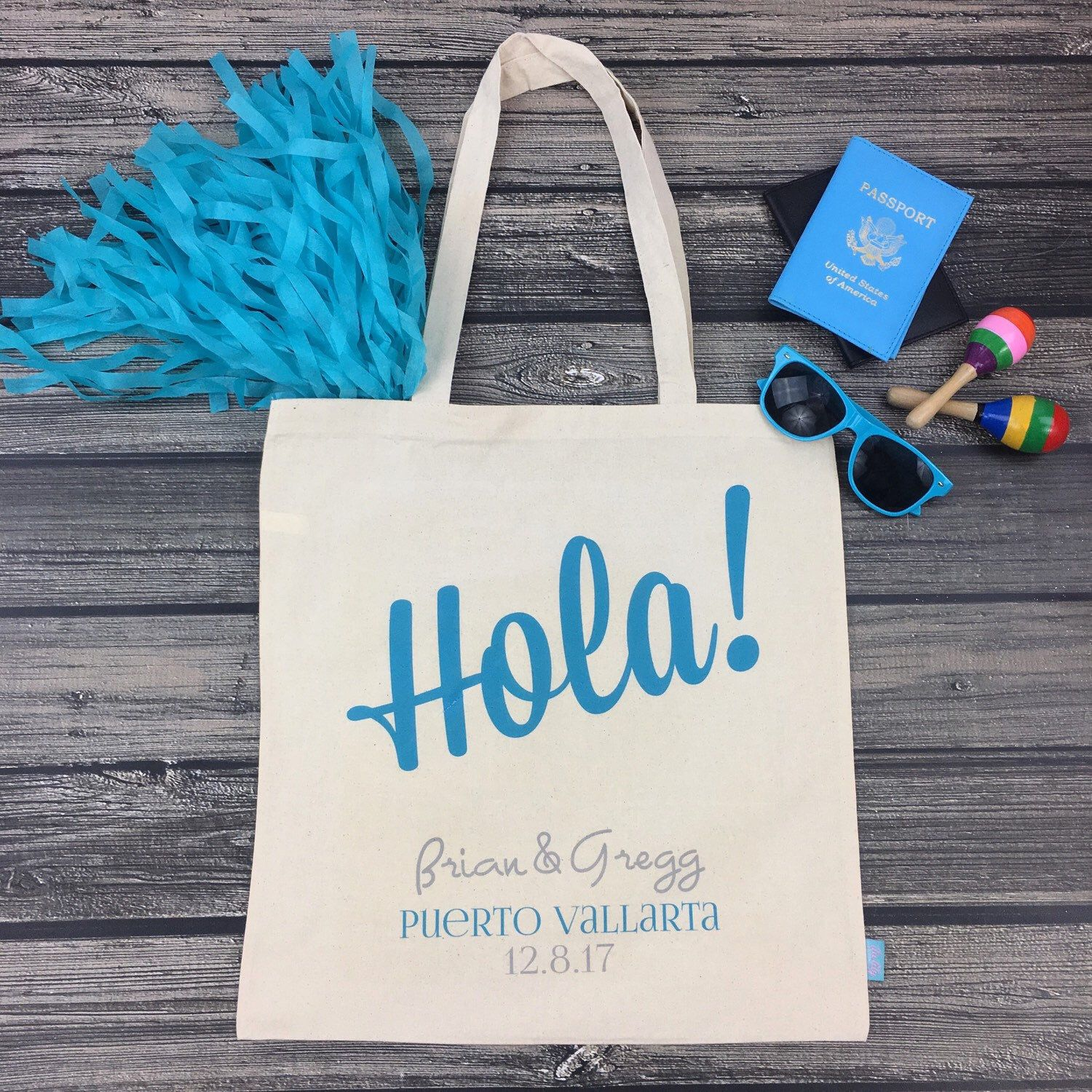 Planning A Destination Wedding Our Adorable Tote Bags Are Def A