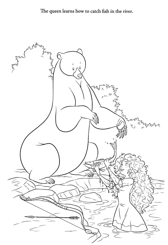 Merida Disney Ausmalbilder : Disney Coloring Pages Disney Coloring Pages Pinterest