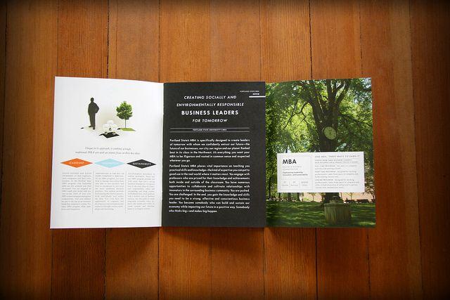 Portland State University Mba Brochure Brochure Portland State University Mba