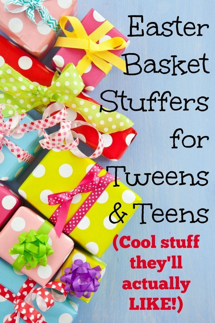 Tween Easter Basket Ideas: 50 Awesome Easter Basket Stuffers For Tweens And Teens