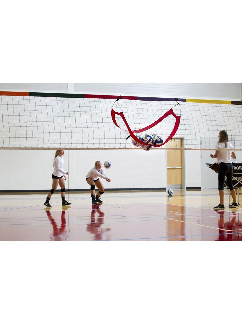 Tandem Pop Up Catcher Midwest Volleyball Warehouse Volleyball Volleyball Net Target Collections