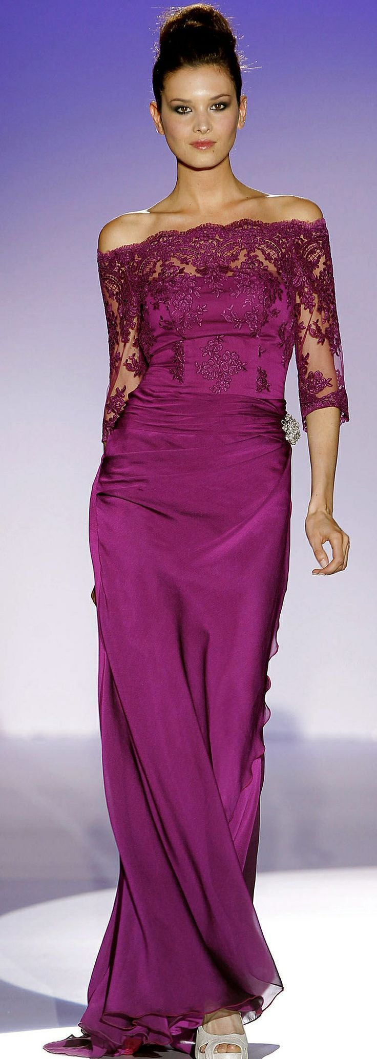 Franc Sarabia magenta gown | Red Carpet\'s style | Pinterest ...