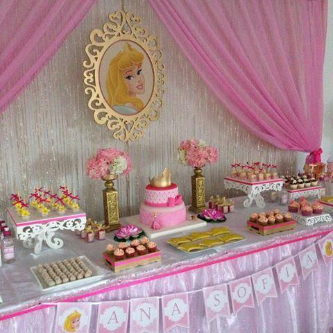 Princesa aurora para cumplea os fiesta aurora - Decoracion cumpleanos princesas ...