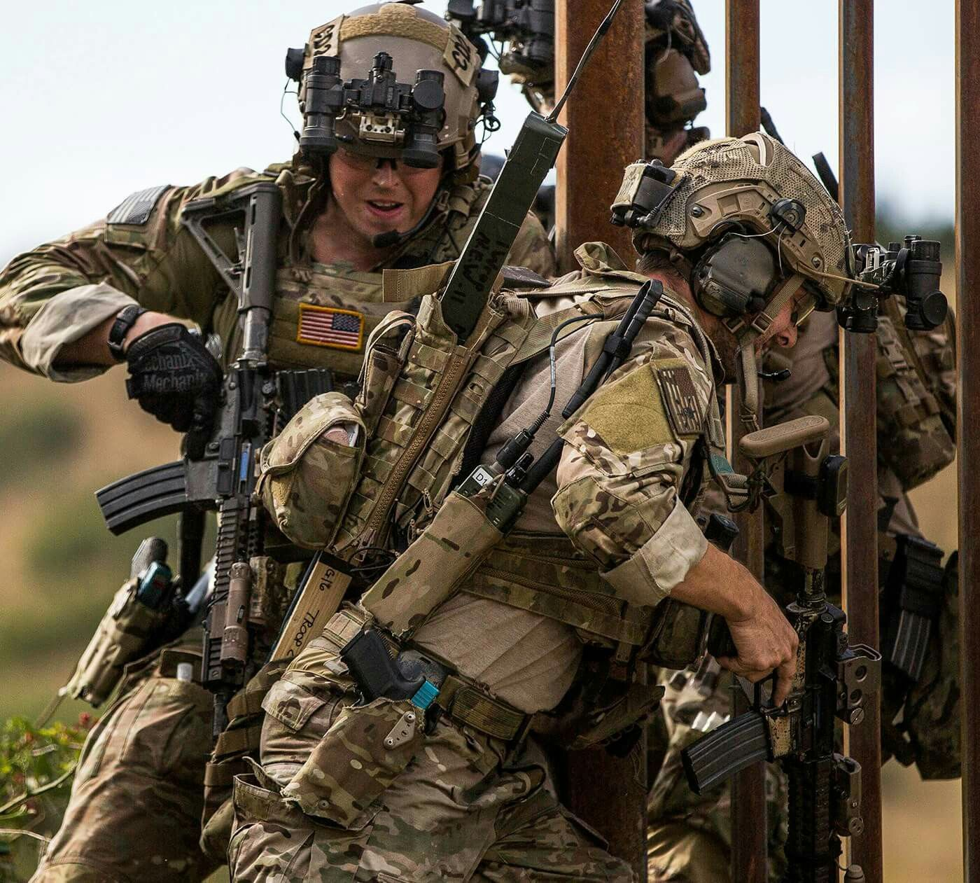Jackal Stone 2016 空軍, 兵士, 特殊部隊
