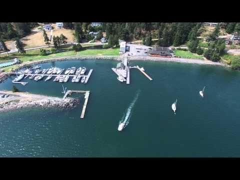 Cascade Bay near Rosario Resort P3P drone flight, Orcas Island, WA 2015-07-13 - http://www.nopasc.org/cascade-bay-near-rosario-resort-p3p-drone-flight-orcas-island-wa-2015-07-13/