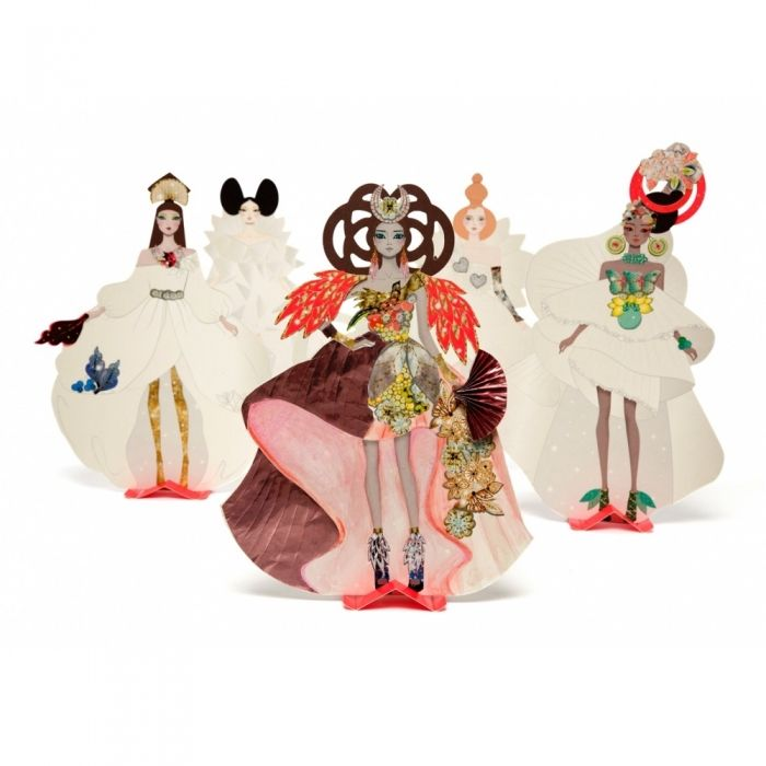 Haute Couture Paper Dolls. So lovely for the budding fashionista!