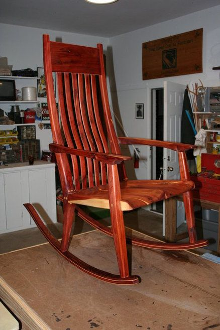 Western Red Cedar Rocking Chair & Western Red Cedar Rocking Chair | wood crafts | Pinterest | Western ...