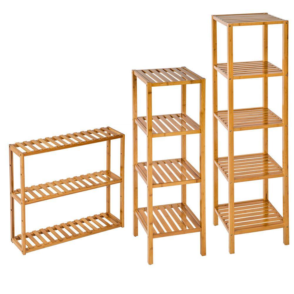 details zu standregal holzregal haushaltsregal badregal b cher holz sauna regal k chenregal. Black Bedroom Furniture Sets. Home Design Ideas