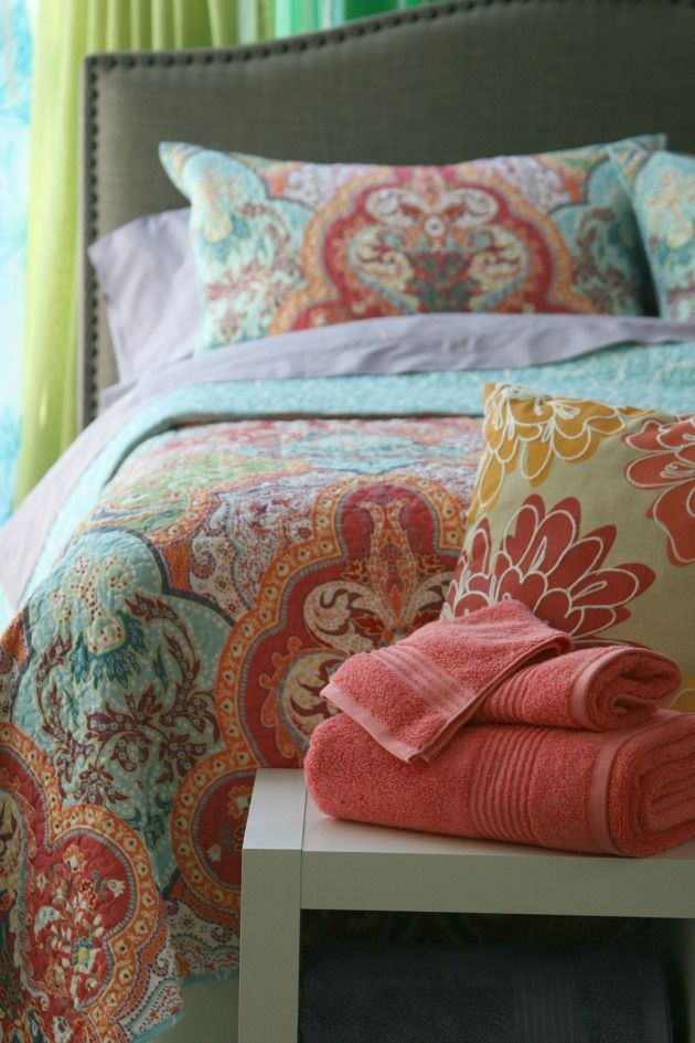 Behind the scenes at better homes and gardens bright - Better homes and gardens bedding ...