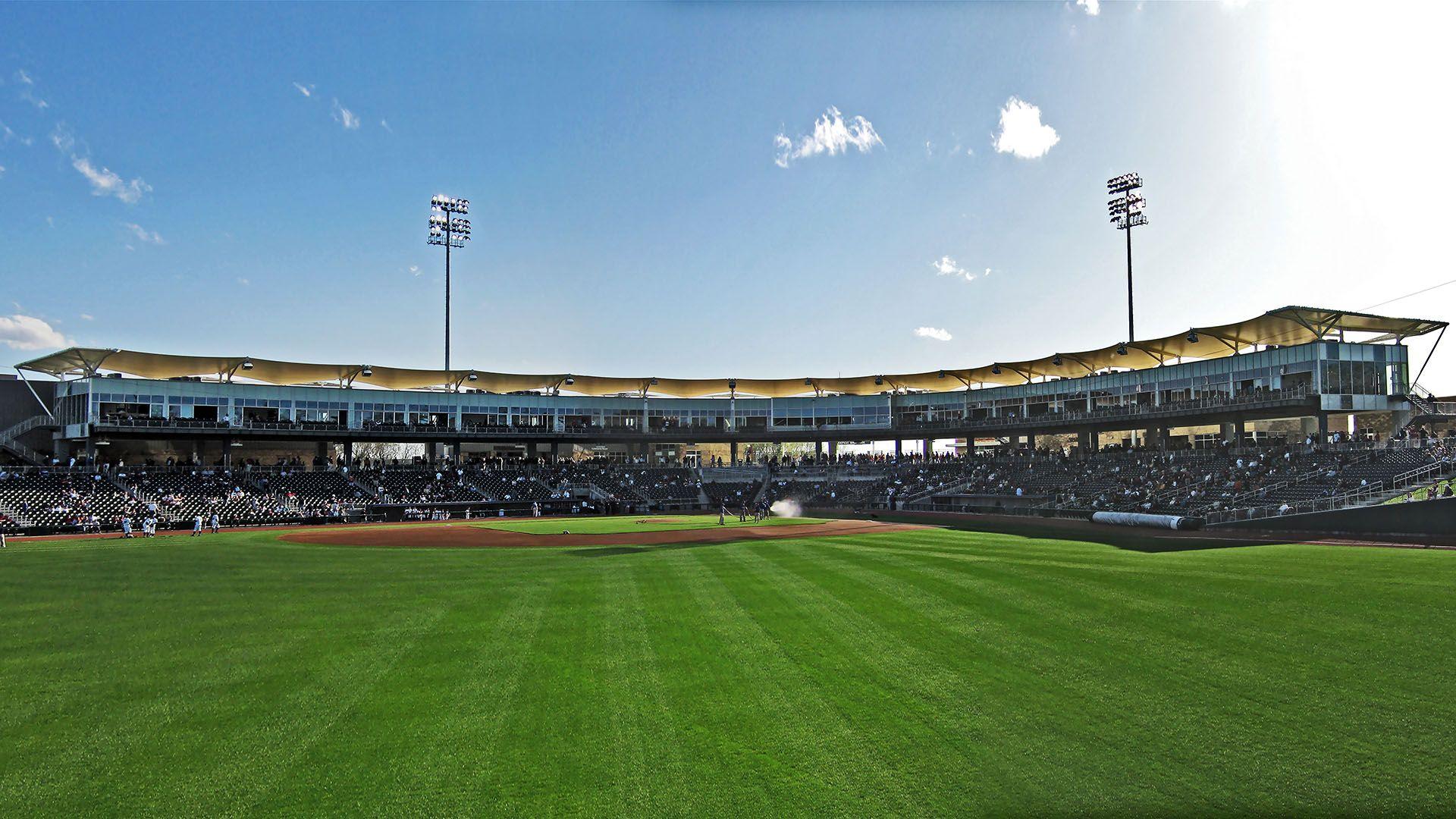 Arvest Ballpark in 2020 Membrane structure, Ballparks