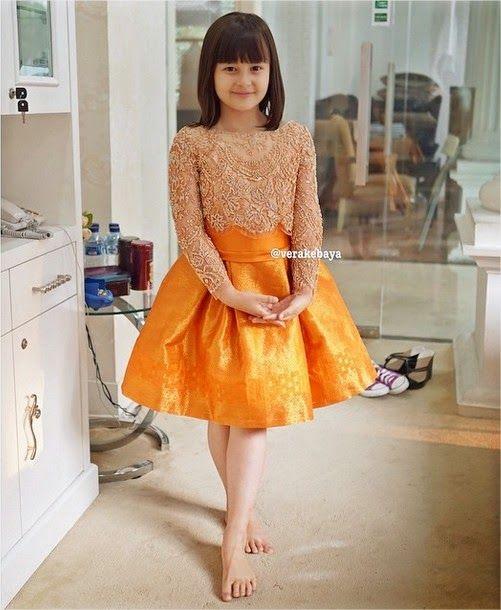 Vera Kebaya Anak Baju Untuk Yg Mungil Pakaian Anak Gaun Dan Anak