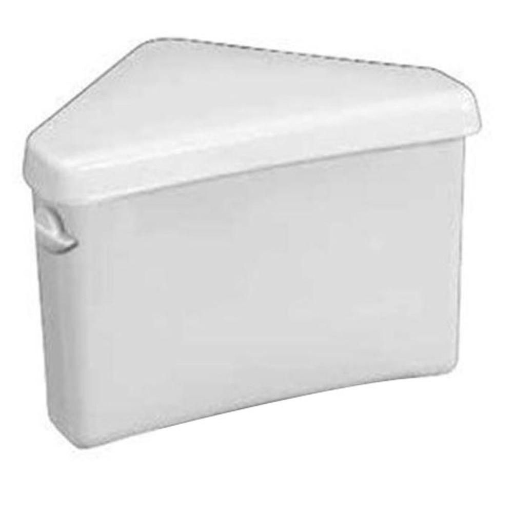 American Standard Triangle Cadet 3 1.6 GPF Single Flush Toilet Tank Only in White