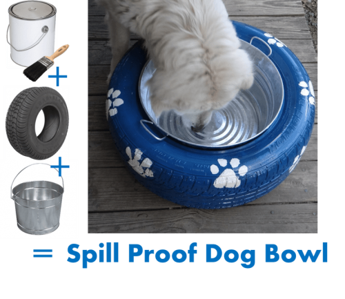 Spill Proof Dog Water Or Food Bowl Diy Project