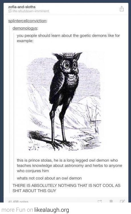 The coolest demon you'll ever meet