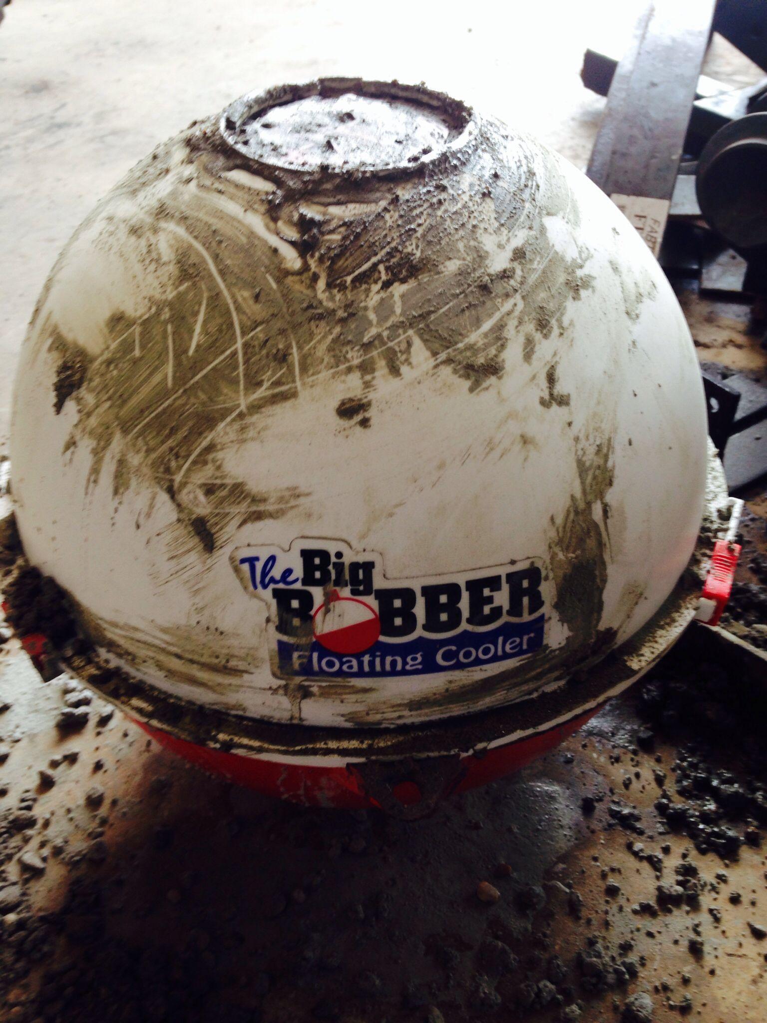 Big bobber cooler reusable mold quot atlasstone around