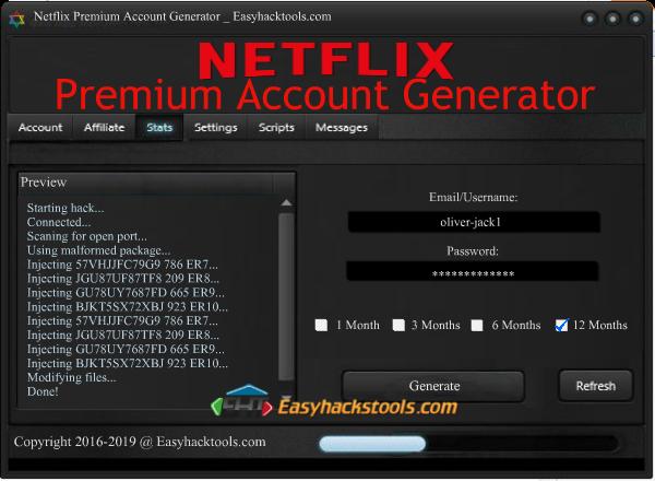 netflix premium account generator 2016 without survey free download