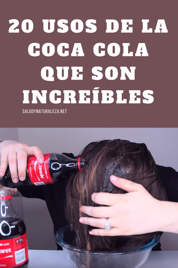 Coca Cola Para El Cabello Para Que Sirve Pin En Remedios Para Rebajar