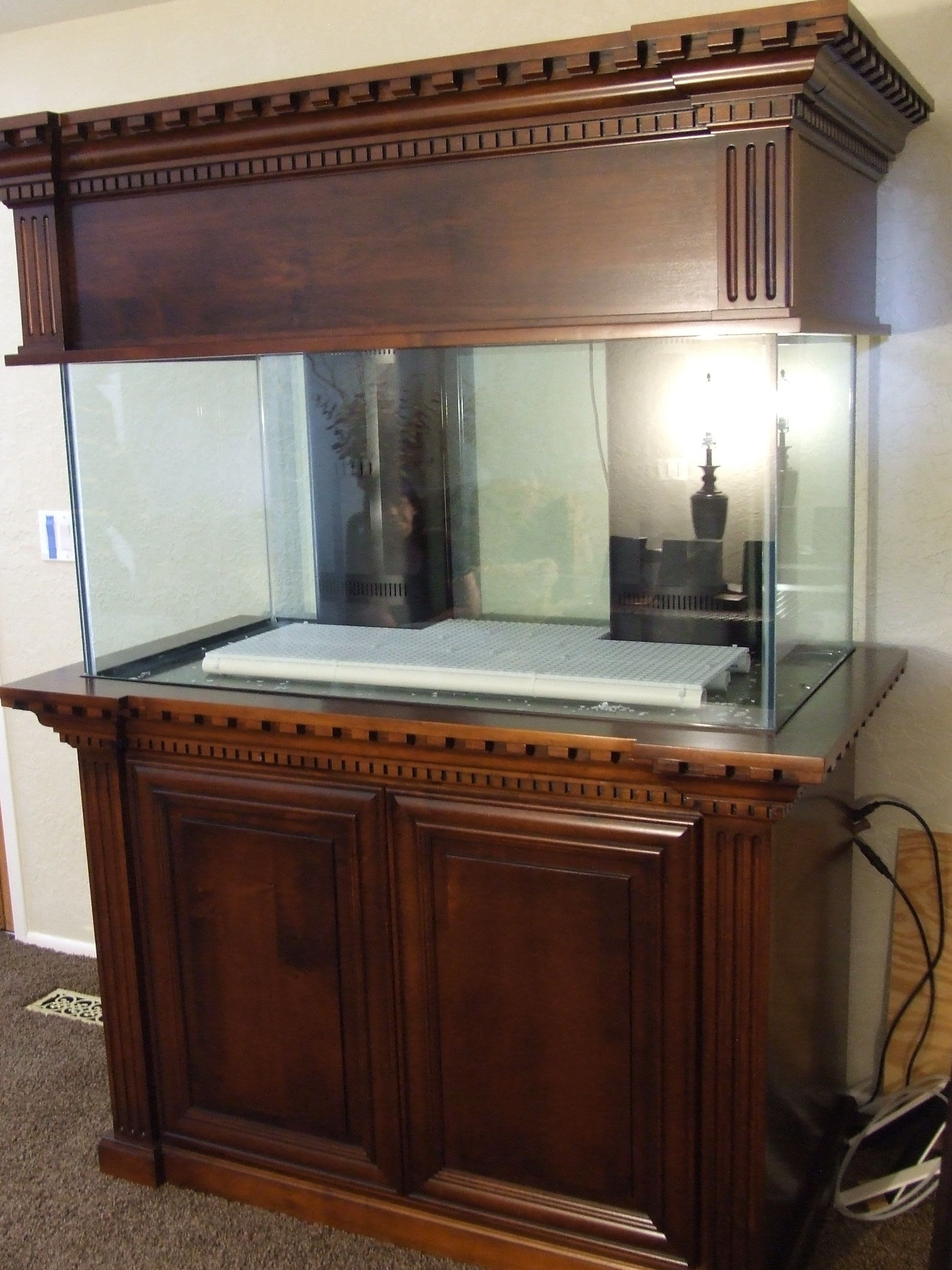 Awesome Tank Stand I love the canopy & Custom Aquarium Furniture - Best Quality Furniture Check more at ...