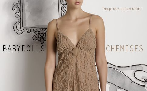 Baby Dolls and chemises as an outwear....Wear them with maxi sweaters covering up under the seat and oversized coat. http://grazialliani-shop.com/en/news/25/how-should-i-wear-them-nightgowns-turned-into-outwearthis-year-big-hit #Chemise #BabyDoll #Sleepwear #sottovesti #outwear #miniabiti #Grazialliani #Loungewear