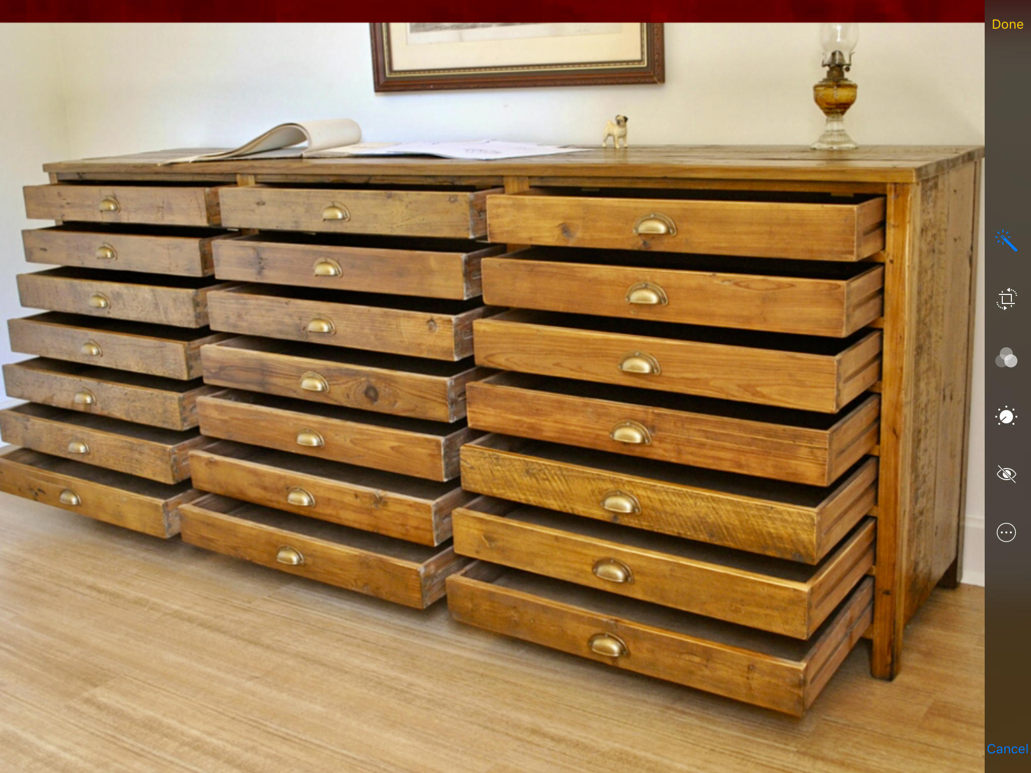 STUNNING 21 DRAWERS RUSTIC PINE AMAZBALL Workshop