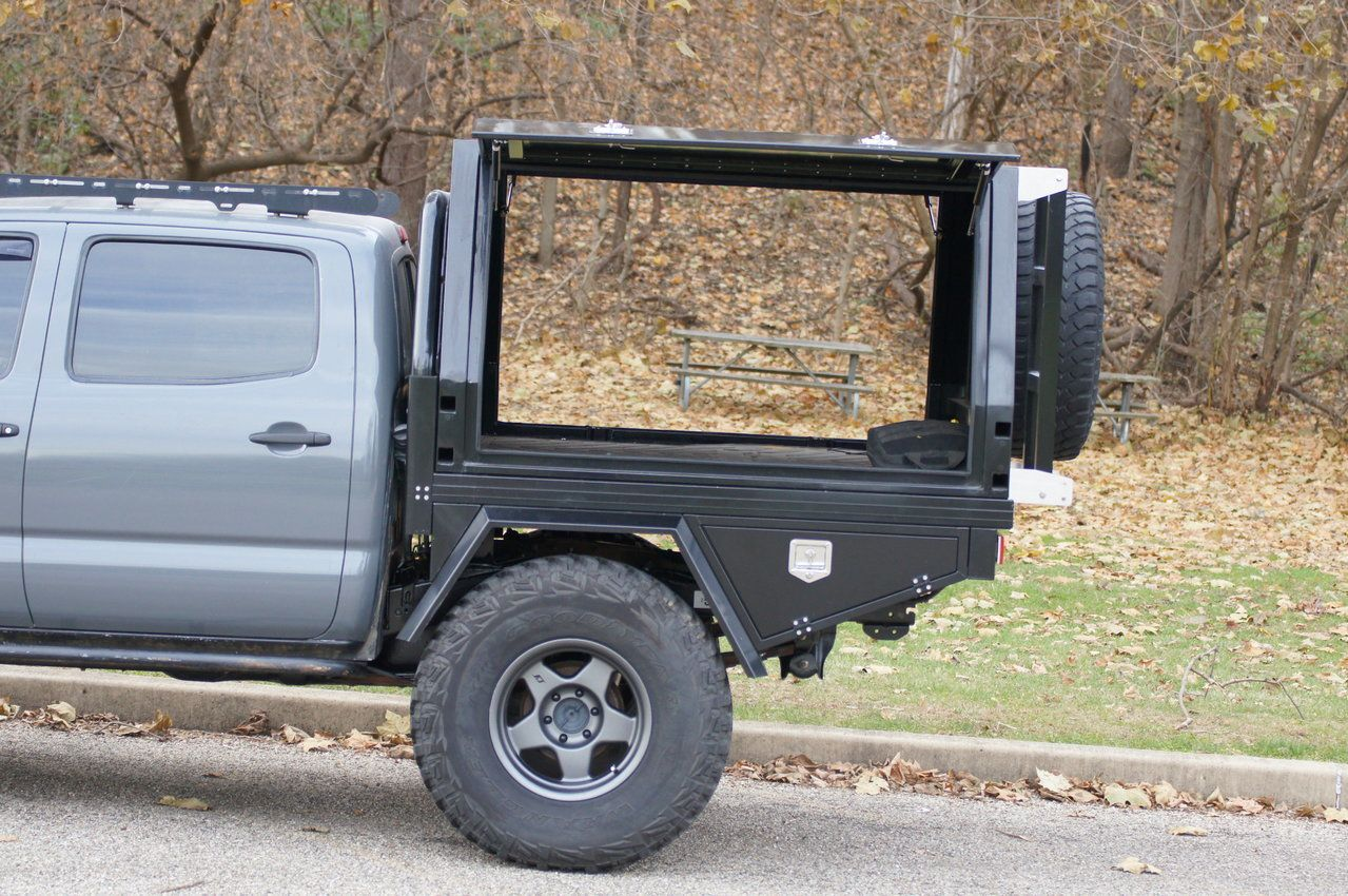 Aluminum Flatbed, Tray/Canopy, EAF in 2020 4x4